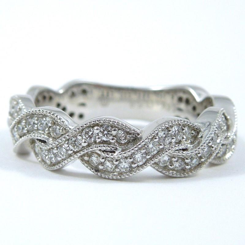 Infinity Diamond Wedding Band 001 110 00695 Wedding Bands From